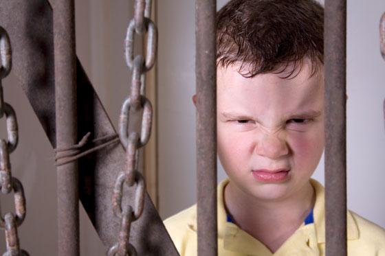 Griner på nesa i fengsel